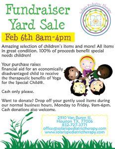 Fundraiser Yard Sale